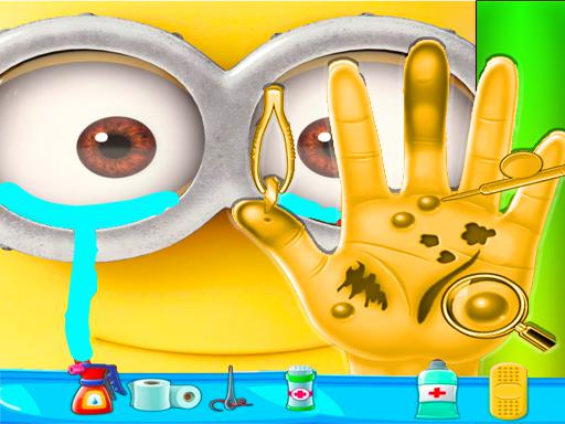 Minion Hand Doctor Game Online - Hospital Surgery