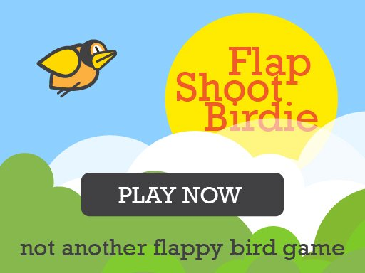 Play Flap Shoot Birdie Mobile Friendly FullScreen Game Online