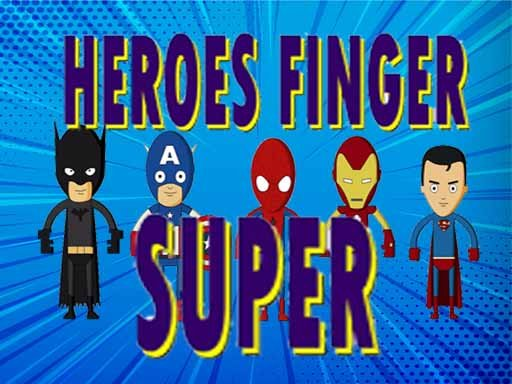 Super Heroes Finger