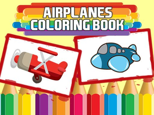 Play Airplanes Coloring Book Online
