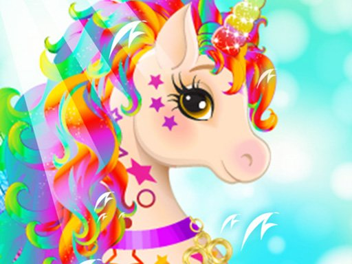 Unicorn For girls Dress up