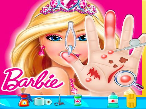 Barbie Hand Doctor: Fun Games for Girls Online