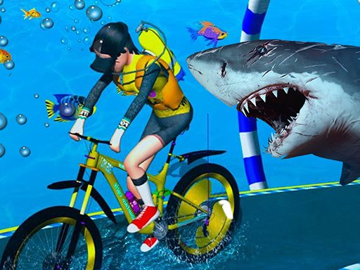 Play Underwater Bicycle Racing Online