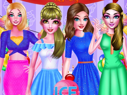 ICE CREAM BIRTHDAY PARTY DRESSUP