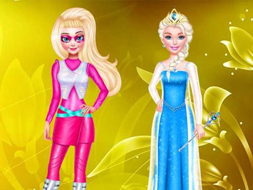 DRESS UP PRINCESS FASHION COSPLAY MAKEOVER