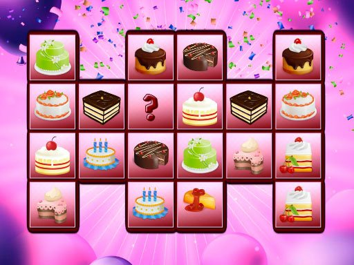 Play Birthday Cakes Memory Online